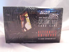 Star Trek Ccg Alternative Universe Ovp Booster Verpackung
