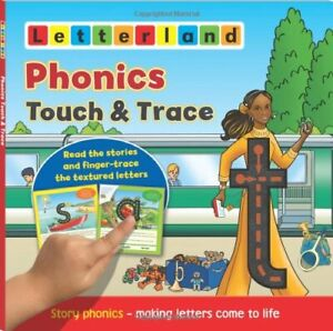 Phonics Touch & Trace: 1 (Letterland) by Lisa Holt Book The Cheap Fast Free Post