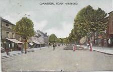 Hereford. Commercial Road - 1907 Used P/C- (Pub:Wilson & Phillips.)- VGC !