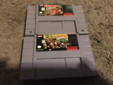 DONKEY KONG COUNTRY 1 & 2, SNES, 2 GAMES