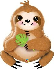 Qualatex 39 Inch Sweet Sloth Balloon Jungle Birthday Party Decoration