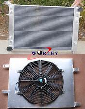 Aluminum Radiator + Shroud + 12V Thermo Fan for HOLDEN VN VG VP VR VS V6 3.8L