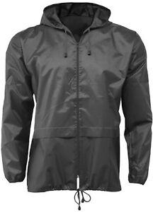 New Lightweight Ladies Camping Festival Kagool Cagoule Rain Coat Jacket Mac