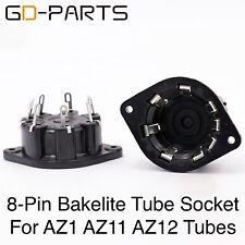 2PCS Generic 8PIN P8A Plastic Vacuum Ttube socket FR AD1,EL5,AZ4,EL1,EL3,EL2,EF1