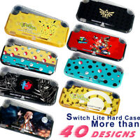 for Nintendo Switch Lite Hard Case Cover Shell 40+ Designs