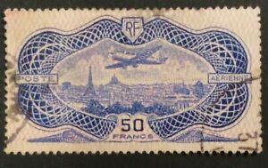 France aerienne Yvert 15 obliteré Frankrijk luchtpost Mi.nr 321 gebruikt