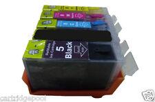 4 pack Refillable ink cartridges for Canon PGI-5 CLI-8 PIXMA MX700 iP3300 iP3500