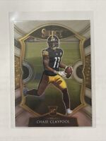 2020 Panini Select Chase Claypool Concourse Base Rookie RC STEELERS