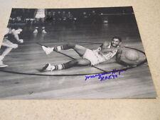 Marques Haynes deceased Harlem Globetrotters H.O.F '98 signed b&w 8 x 10 photo