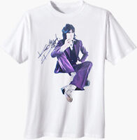 T-SHIRT Keith Richards The Rolling Stones SNAKESKIN PURP