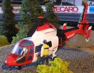 Hubschrauber JOHANNITER Notarzt DEKO für Carrera Digital Servo UNIVERSAL 25613