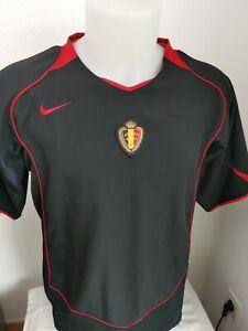 superbe maillot de football Belgique vintage  taille L