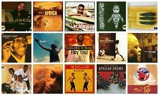 15 AFRICAN CD LOT music of Africa ~Uganda,Congo,Kenya,Senegal,Ghana,Cameroon NEW