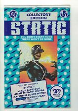 Static #1 | 1st Appearance of Static | Polybagged | DC - Milestone - June 1993