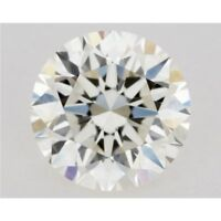 Genuine Loose Moissanite 0.49 ct 5.35 mm J-K White Color Round Cut VVS1 GBP
