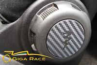 alfa romeo mito adesivi sticker decal manopola sedile 95 mm tuning carbon look