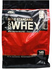 Optimum Nutrition ON 100% Whey Protein 10 lb, 10 pound Double Rich Chocolate