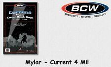 BCW - 25 Current - Mylar - Comic Book Bags - Hüllen - 4 Mil mit Lasche NEU/OVP!
