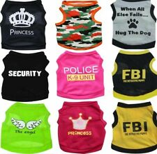 Dog t-shirt Small Pet Puppy Sweater Medium Dog Apparel for Micro Poodle Kitten