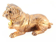 Pug Dog Puppy Jewelry Trinket Box Animal Decorative Collectible Pet Cute 02071