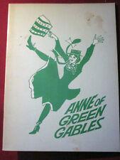 1968  Anne of Green Gables Canada Theater Souvenir Pressbook