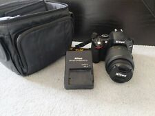 Nikon d5100 camera - with bag, strap, charger and 18-55mm lens