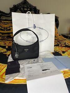 PRADA Re-Edition 2000 Nylon Mini Bag BLACK