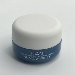 Sunday Riley TIDAL Brightening Enzyme Water Cream 0.5oz / 15g Travel