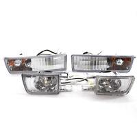 Front Bumper Fog Lamp Corner Turn Signal Light for VW Jetta Golf MK3 Vento 93-98