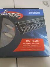 LANZAR PRO HC-5.0M  2 CHANNELS AUDIO RCA CABLES  5 METERS
