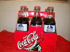 6 pack Crossville, Tennessee  2001 coca cola  bottle-