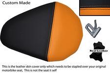 Naranja Y Negro Custom encaja Ktm Duke 200 2012 2013 pasajeros traseros cubierta de asiento