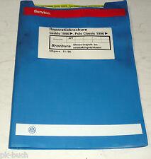 Reparatiebrochure VW Polo Classic / Caddy Simos inspuit- en ontstekingssys. AFT
