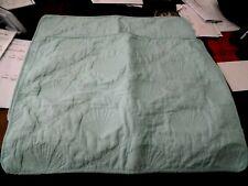 2 New Bealls Standard Pillow Shams Aqua Blue Shell Seashell Scallop Design