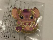 Disney Experiment 624 Angel Christmas 2013 Pin Holding Ornament - Lilo Stitch
