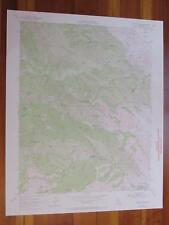 Crevison Peak California 1972 Original Vintage Usgs Topo Map