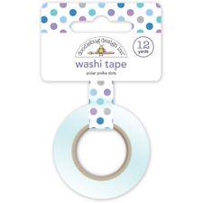 Scrapbooking Crafts Doodlebug Washi Tape Polar Polka Dots Winter Blue Purple