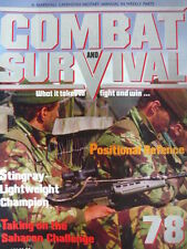 Combat and Survival Military & War Magazines