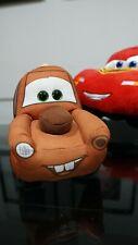 Disney Pixar 3 Lightning McQueen Plush Toy 13 inch & MATER TY pillow