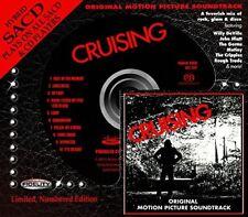 CRUISING Original Sdtrk RARE HYBRID SACD AUDIO FIDELITY John Hiatt Willy DeVille