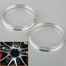 4pc Aluminum Hub Centric Centering Rings | 72.6mm Car to 74.1mm Wheel | for BMW