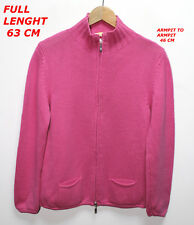 ELISA CAVALETTI WOMAN LADIES BLOUSE PULLOVER PINK COLOR SIZE L LONG SLEEVE