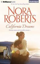 CALIFORNIA DREAMS unabridged audio book on CD by NORA ROBERTS - Brand New!