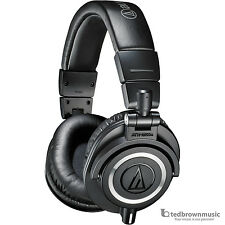 Audio-Technica M50X Professional Monitor Headphones - Black