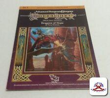 AD&D D&D Dragons of Hope Adventure Module DL3....(C6B5)