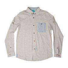 KING APPAREL Brotish Streetwear Insignia Heather Shirt - Men's Size Small