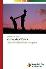 USED (LN) Vozes da Clínica: Linguagem, deficiência e dialogismo (Portuguese Edit