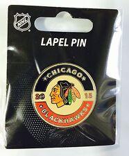 2015 Winter Classic Chicago Blackhawks Lapel Pin NEW! NHL