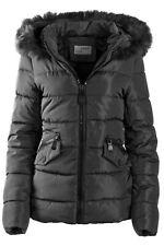 buy online 59314 dac4c Winterjacke Damen Schwarz mit Fell günstig kaufen | eBay