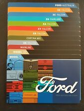 2017 AUSTRALIAN Ford  12 Dividers and WITH History Booklet